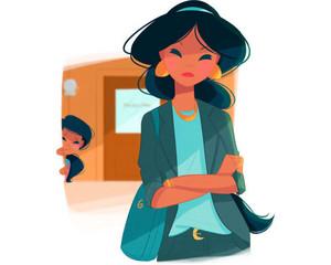 Jasmine's mom life