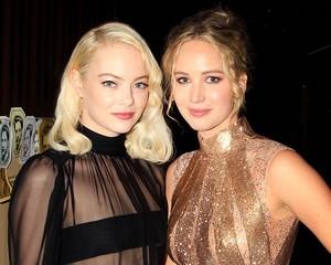 Jennifer Lawrence and Emma Stone