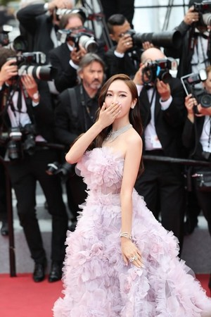 Jessica attending 'Cannes Film Festival'