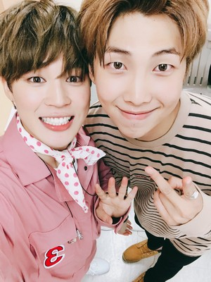 Jimin and RM