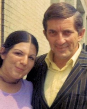 Jonathan Frid and a fan