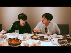 Jungkook and Jhope