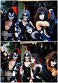 KISS ~Hollywood, California...February 24, 1976 (Graumans Chinese Theater) - kiss photo