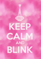 Keep Calm and Blink - i-dream-of-jeannie fan art