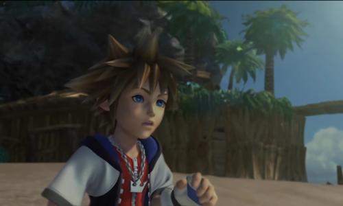 কিংডম হার্টস্ দেওয়ালপত্র entitled Kingdom Hearts 1 PS2 Opening FMV (Waifu2x Caffe)