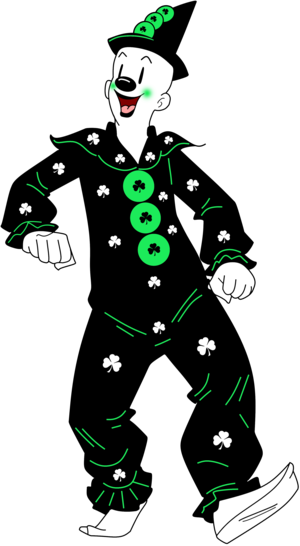 Koko Anime St. Patrick s Day Render
