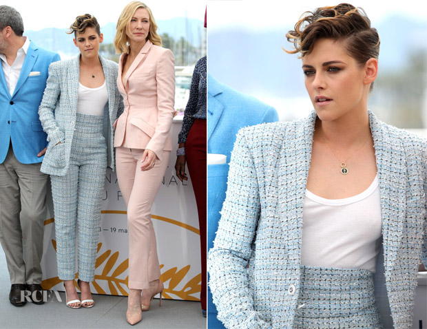 Kristen at Cannes FF 2018 with Cate Blanchett
