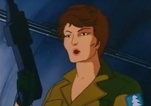 Lady Jaye Sunbow G.I.Joe cartoon series