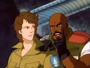 Lady Jaye and Roadblock G.I.Joe The Movie
