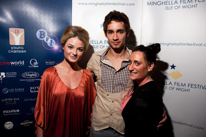 Lauren Socha, Emma Rigby and Robert Sheehan