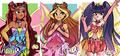 Layla, Flora,  - the-winx-club fan art