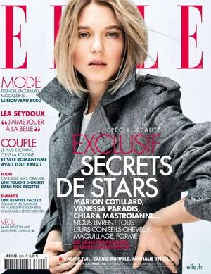 Lea Seydoux - Elle France Cover - 2016
