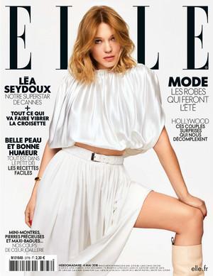 Lea Seydoux - Elle France Cover - 2018