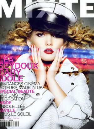 Lea Seydoux - Mixte Cover - 2009