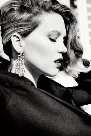 Lea Seydoux - Tatler Photoshoot - 2017