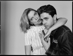Lea Seydoux and Xavier Dolan - Madame Figaro Photoshoot - 2016