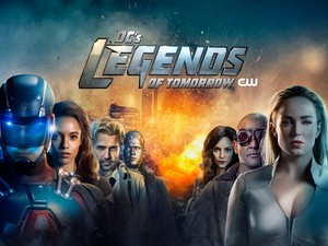 Legends of Tomorrow - Season 4 - Key Art