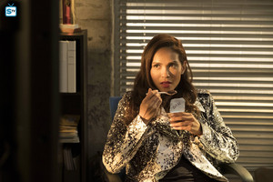 "Lesley-Ann Brandt as Mazikeen in Lucifer - ""Mr. and Mrs. Mazikeen Smith"""
