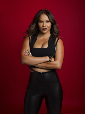 Lesley-Ann Brandt as Mazikeen in Lucifer - Season 3 Cast Portrait