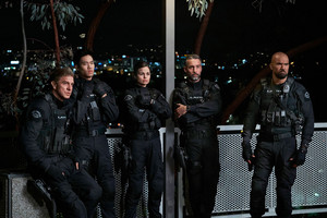 Lina Esco as Chris Alonso in SWAT - Pilot