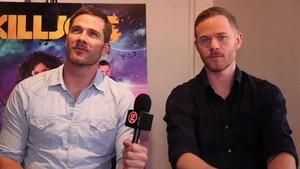 Luke Macfarlane & Aaron Ashmore: Killjoys season 2