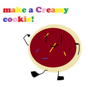 Make a creamy cookie!