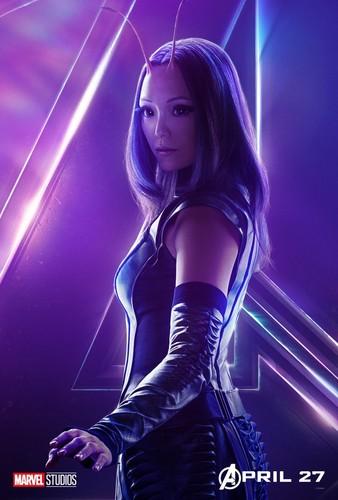 Avengers: Infinity War 1 & 2 壁纸 entitled Mantis - Avengers Infinity War character poster