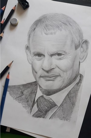 Martin Clunes - done by me!