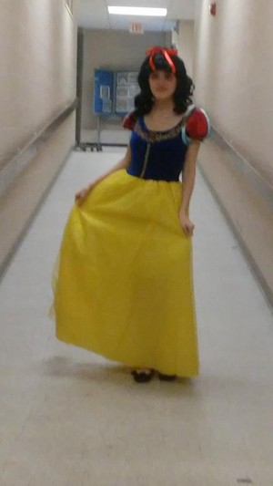 Me as Snow White
