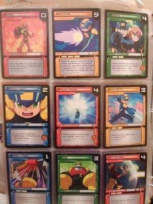 MegaMan Cards