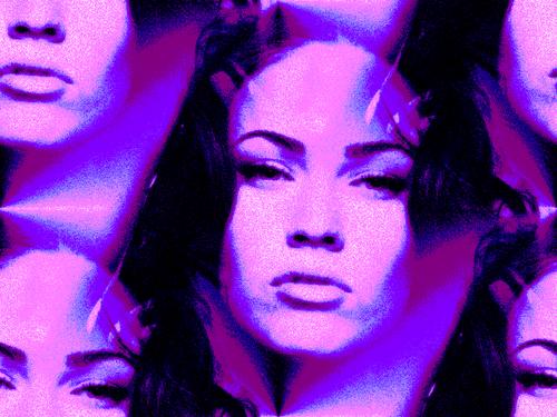 megan zorro, fox fondo de pantalla titled Megan zorro, fox rosado, rosa Prism