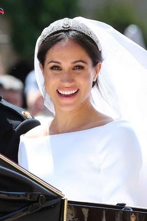 Meghan on her wedding 日