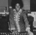 Michael In The Recording Studio  - michael-jackson photo