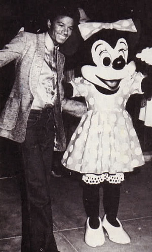 Michael Jackson And Minnie