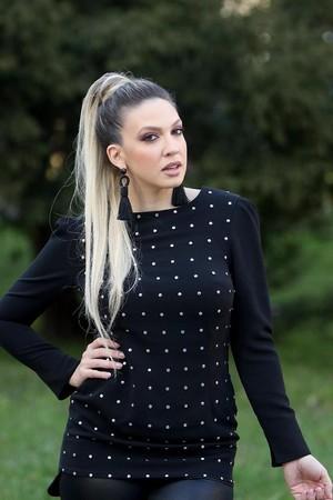 Milica Todorović oleh paparazzo