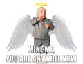 Mini-Me, You Are an Angel Now - random fan art