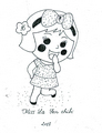 Miss La Sen chibi