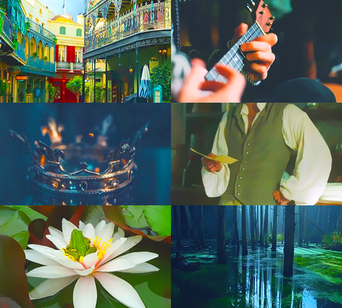 Disney-Prinzessin Hintergrund entitled Mood Board - Naveen