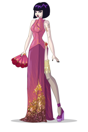 Musa Ball vestido
