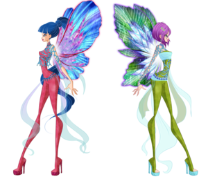 Musa and Tecna Dreamix