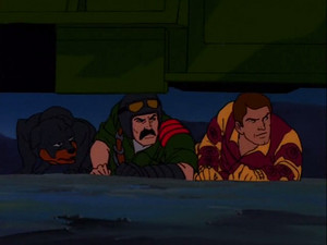 Mutt, Junkyard and Blowtorch Sunbow G.I.Joe cartoon series