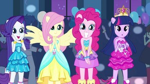 My Little टट्टू Equestria Girls