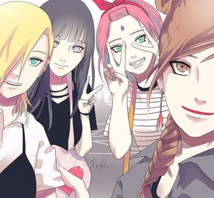 Наруто Girls