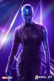 Nebula - Avengers Infinity War character poster