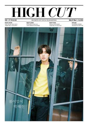 Park Hae Jin High Cut Magazine vol. 217