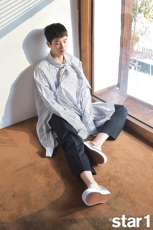 Park Hyungsik Star1 Magazine May Issue '18