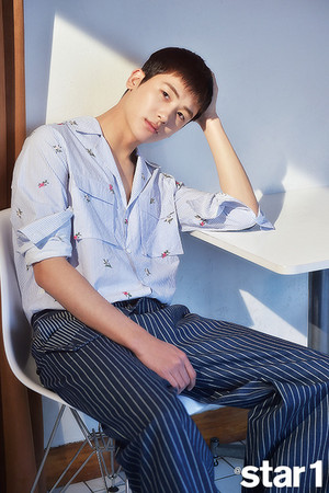 Park Hyungsik Star1 Magazine May Issue'18