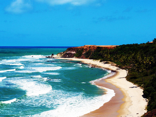 Travel wallpaper titled Pipa Beach (Brazil)