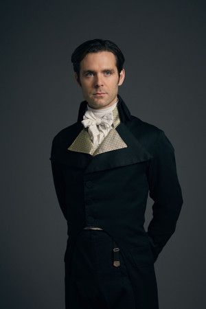 Poldark Season 4 - Dr. Dwight Enys Official Picture