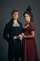 Poldark Season 4 - Elizabeth and George Warleggan Official Picture